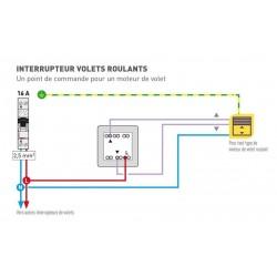 Interrupteur FILAIRE SOMFY INIS à position fixe