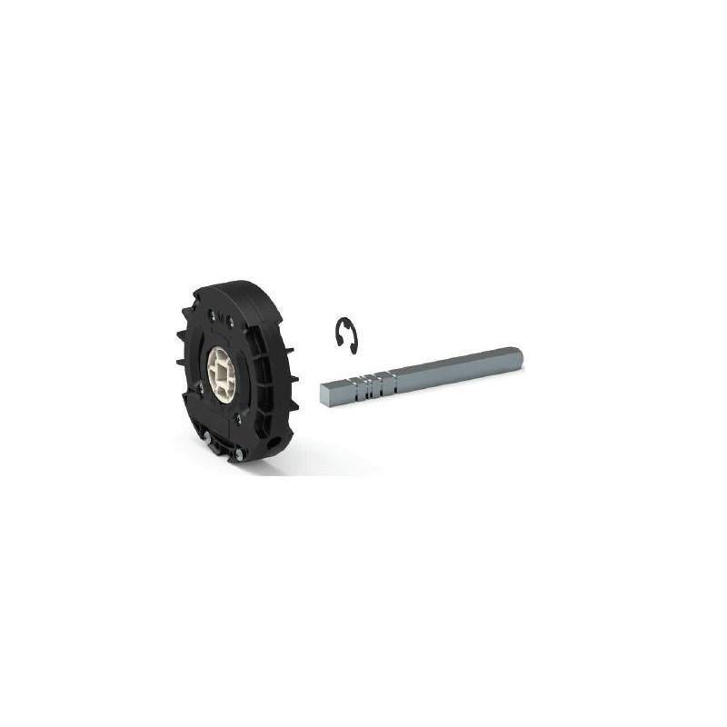 Treuil universel avec carre de 10 mm pour volet roulant